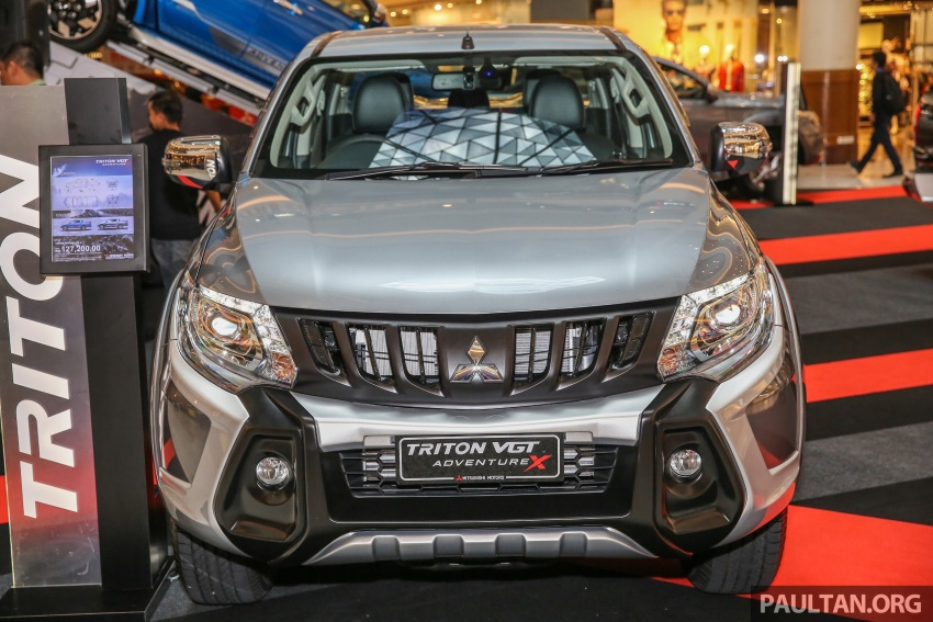 Mitsubishi Triton updated for M'sia – 7 airbags, Active Stability Control standard for Adventure variants Image #640461