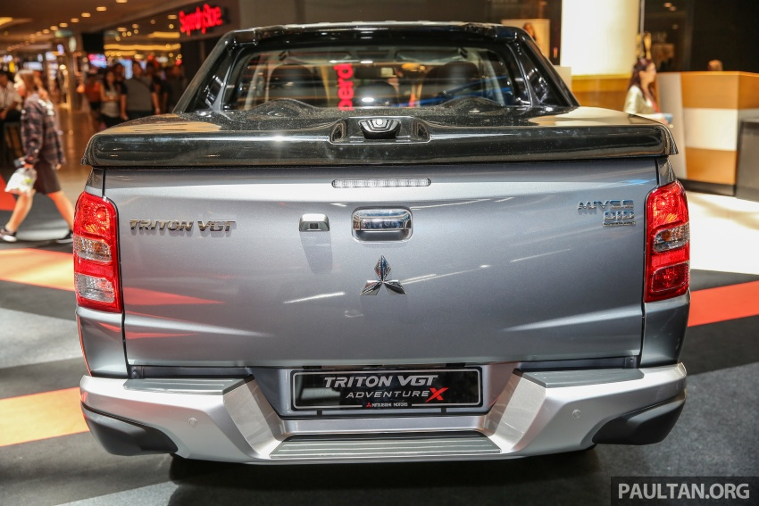 Mitsubishi Triton updated for M'sia – 7 airbags, Active Stability Control standard for Adventure variants Image #640462
