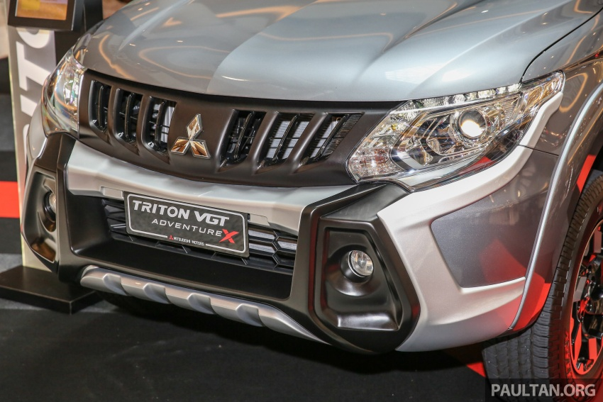 Mitsubishi Triton updated for M'sia – 7 airbags, Active Stability Control standard for Adventure variants Image #640463
