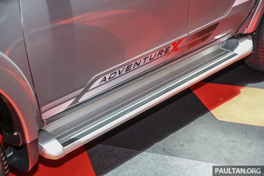 GALERI: Mitsubishi Triton 2017 di Malaysia dipertingkatkan – tujuh beg udara, kawalan kestabilan aktif didatangkan standard untuk varian Adventure Image #640588