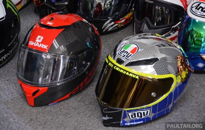 Penggunaan visor gelap pada helmet adalah salah? Image #646951