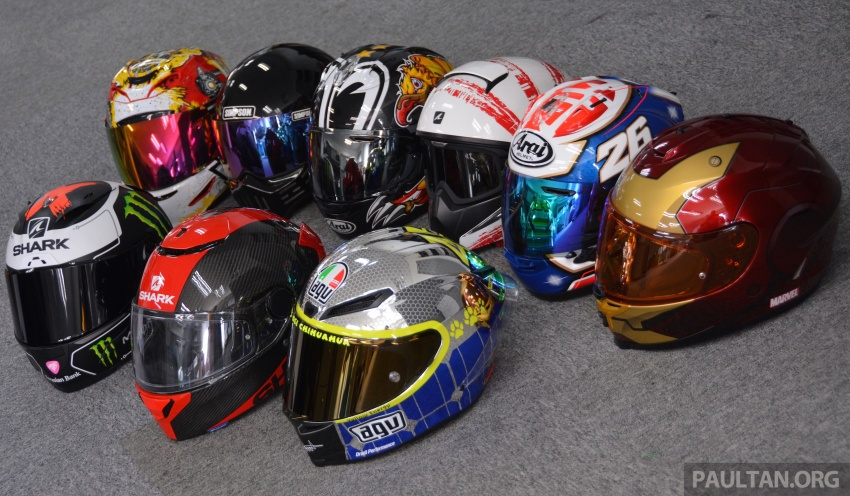 Are motorcycle helmet tinted visors illegal to use? Image #647055