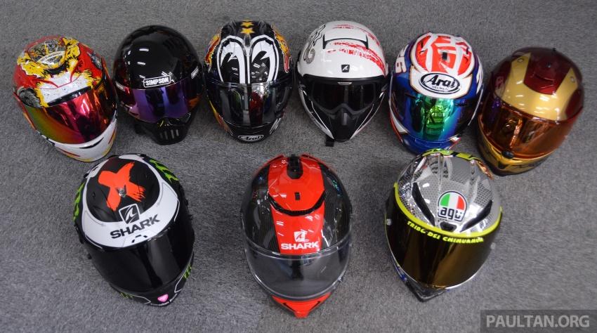 Penggunaan visor gelap pada helmet adalah salah? Image #646953