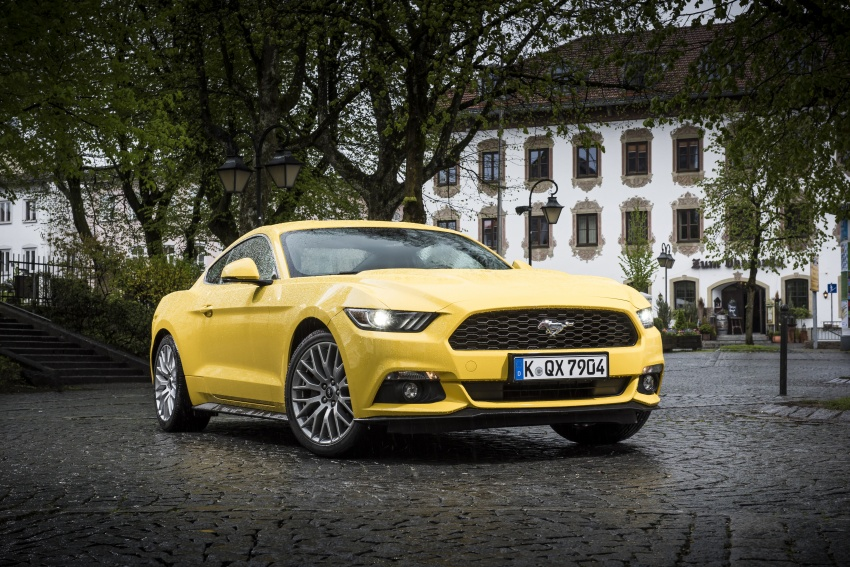 Ford Mustang – world's best-selling sports car in 2016 Image #650677