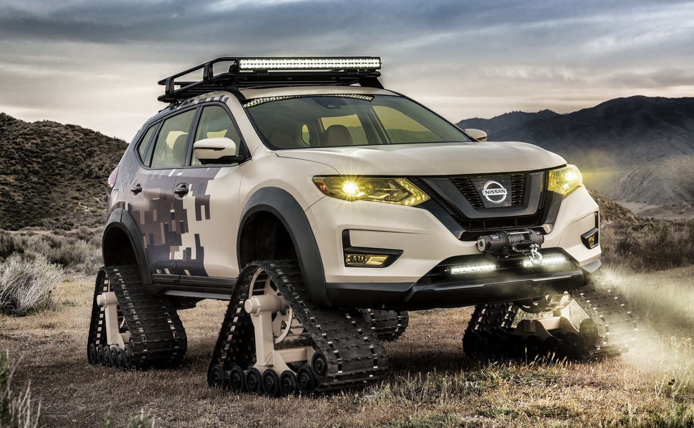 Nissan Rogue 2018 >> Nissan Rogue Trail Warrior Project with facelift, camo Paul Tan - Image 643044