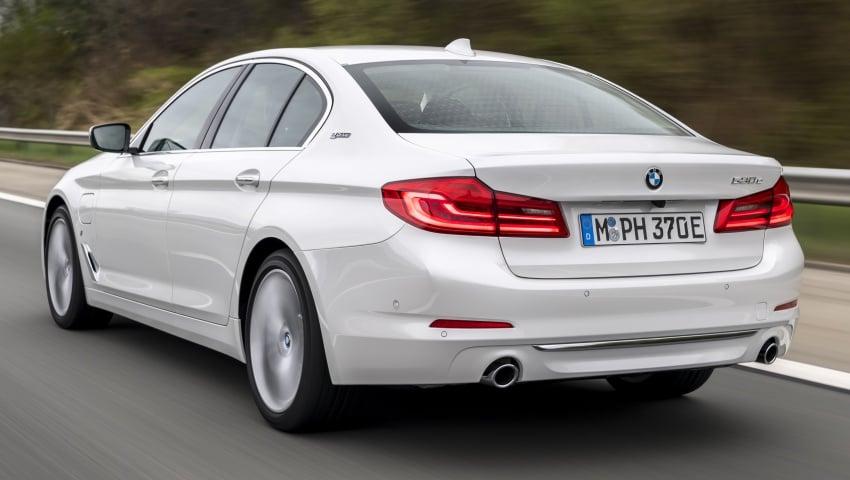 GALLERY: G30 BMW 530e iPerformance – full details Image #652579