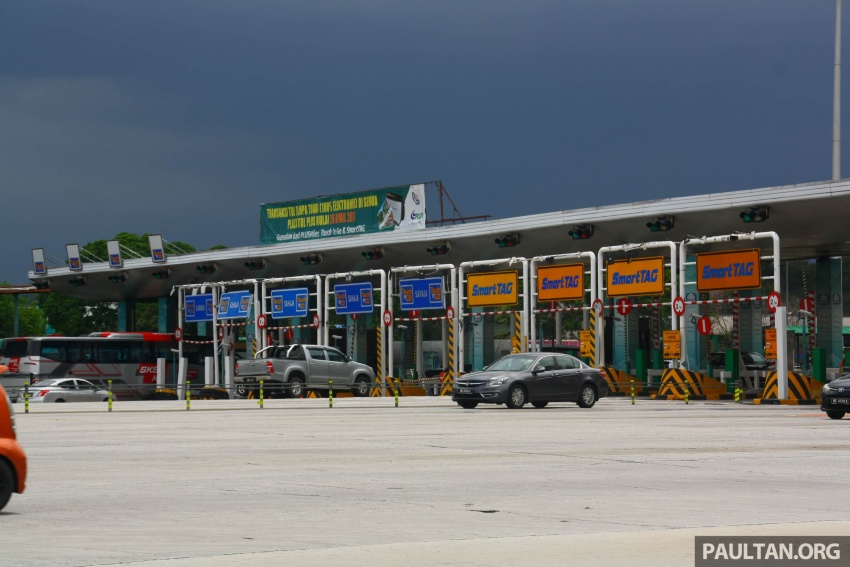 PLUS toll collection goes fully electronic – all 94 toll plazas from Juru, Penang to Skudai, Johor on ETC Image #651021