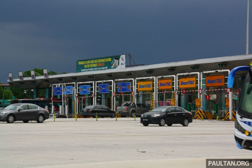 PLUS toll collection goes fully electronic – all 94 toll plazas from Juru, Penang to Skudai, Johor on ETC Image #651022