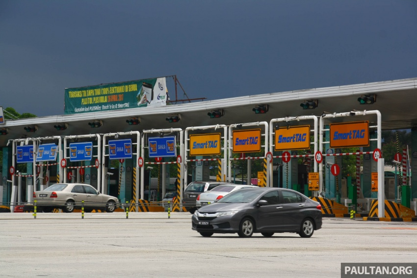 PLUS toll collection goes fully electronic – all 94 toll plazas from Juru, Penang to Skudai, Johor on ETC Image #651031