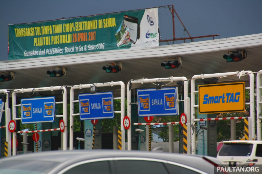 PLUS toll collection goes fully electronic – all 94 toll plazas from Juru, Penang to Skudai, Johor on ETC Image #651032