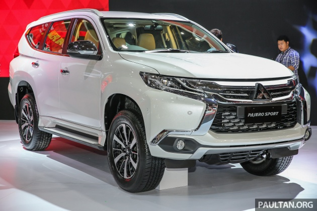 Mitsubishi All New Pajero Sport 2017 >> IIMS 2017: Mitsubishi Pajero Sport now CKD Indonesia