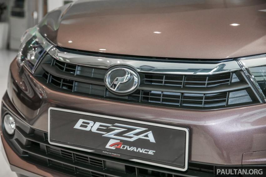 GALERI: Perodua Bezza – imej dipertingkatkan Image #649362