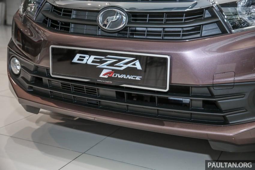 GALLERY: Perodua Bezza Advance – updated looks Image #649053