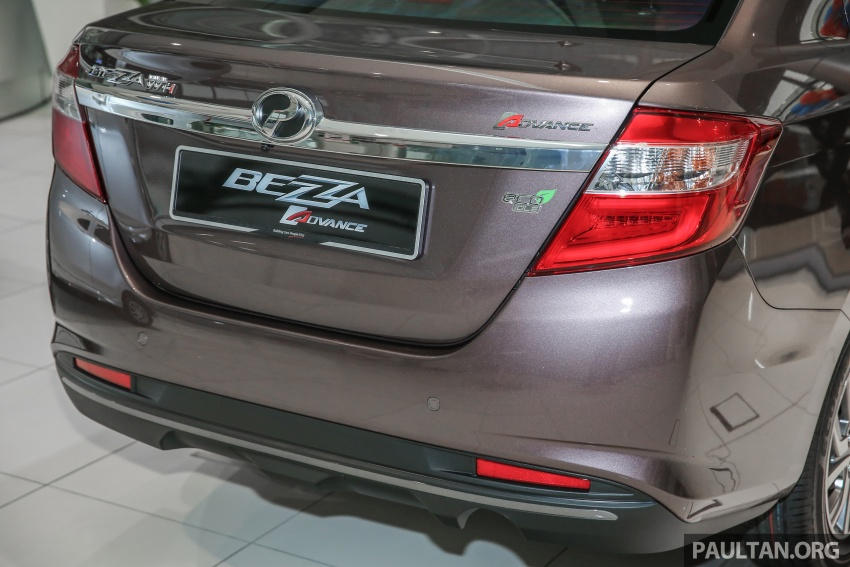 GALLERY: Perodua Bezza Advance – updated looks Image #649060