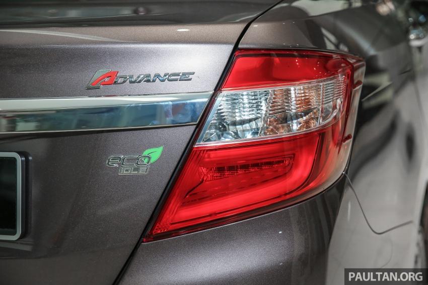 GALLERY: Perodua Bezza Advance – updated looks Image #649061