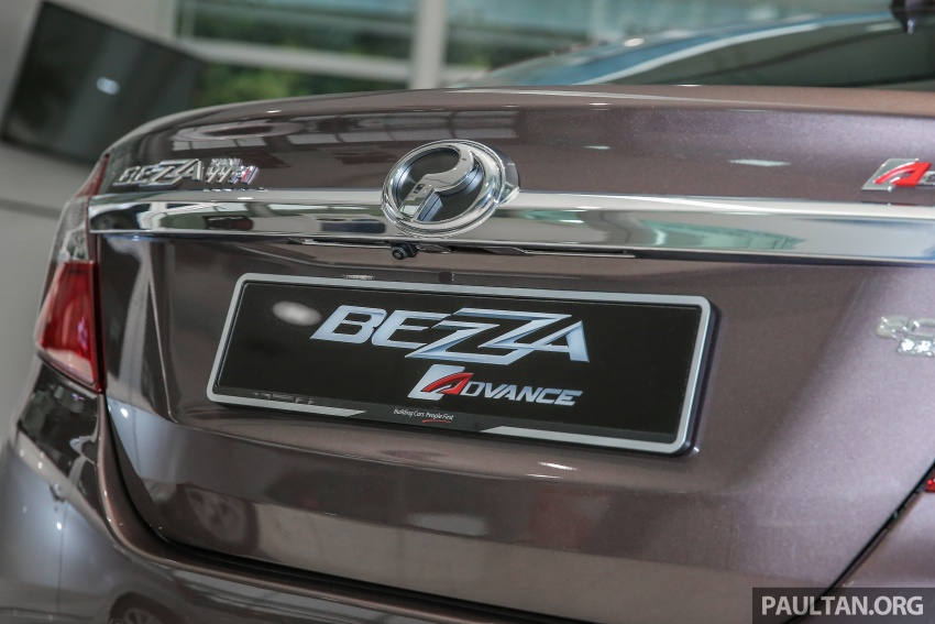 GALLERY: Perodua Bezza Advance – updated looks Image #649062