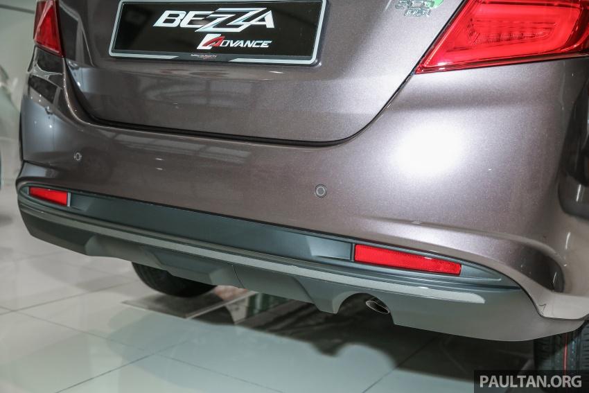 GALLERY: Perodua Bezza Advance – updated looks Image #649063