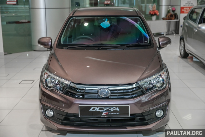 GALLERY: Perodua Bezza Advance – updated looks Image #649046