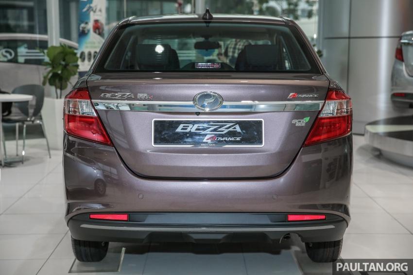 GALLERY: Perodua Bezza Advance – updated looks Image #649047