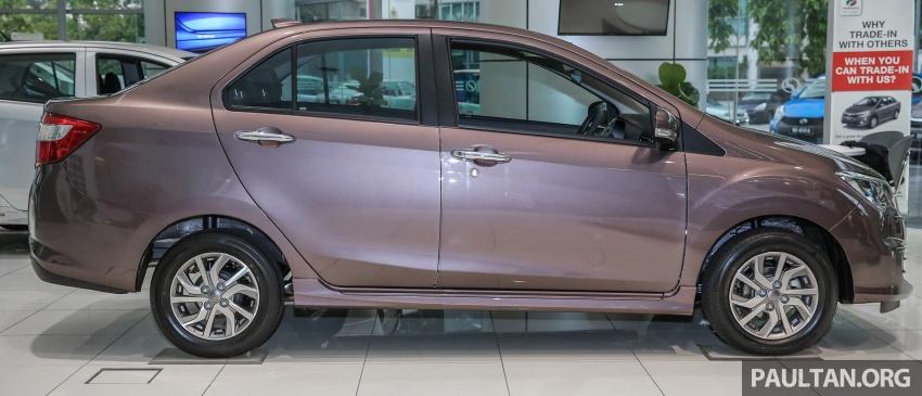 GALLERY: Perodua Bezza Advance – updated looks Image #649048