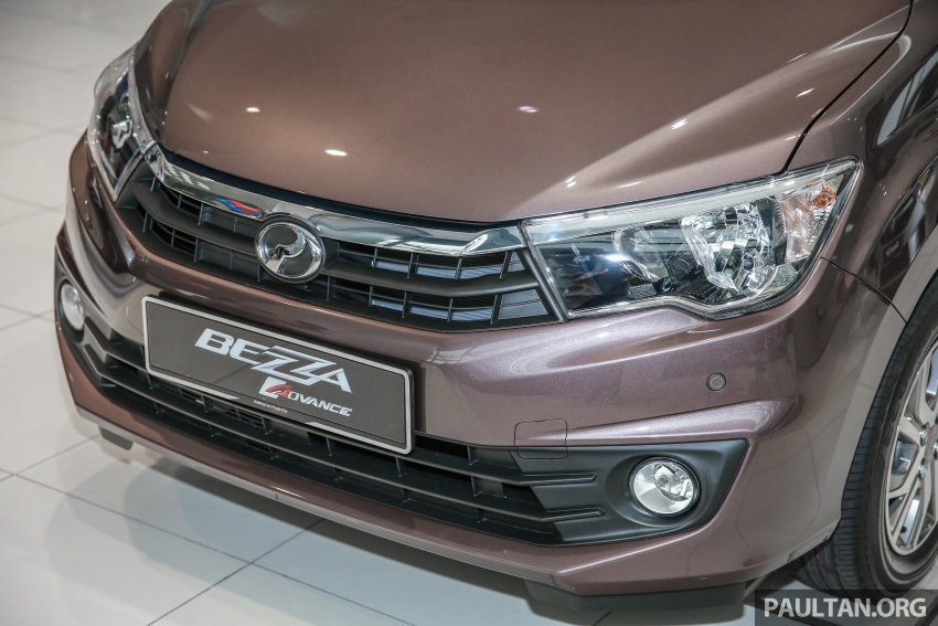 GALLERY: Perodua Bezza Advance – updated looks Image #649049