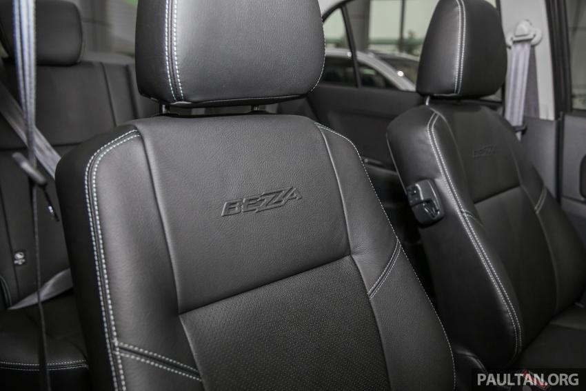 GALERI: Perodua Bezza – imej dipertingkatkan Image #649393