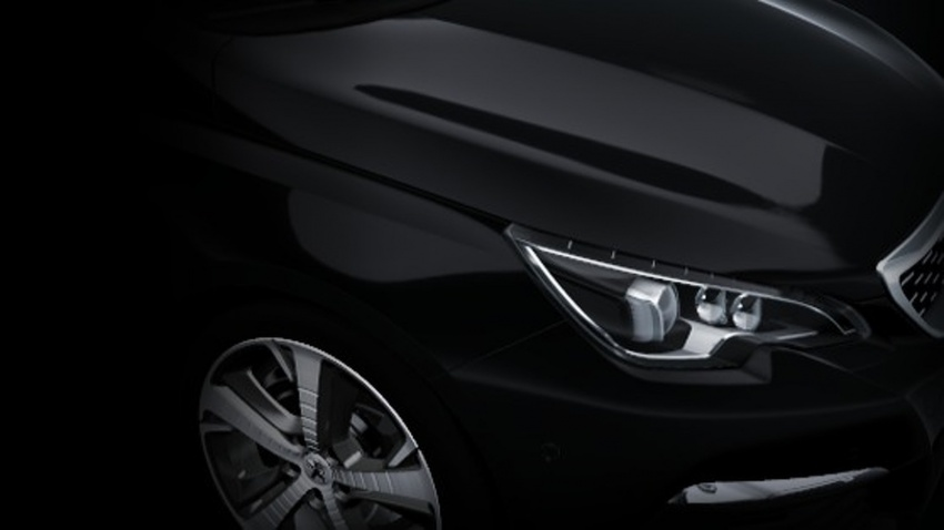 Peugeot 308 facelift official pics leaked, mild changes Image #639133