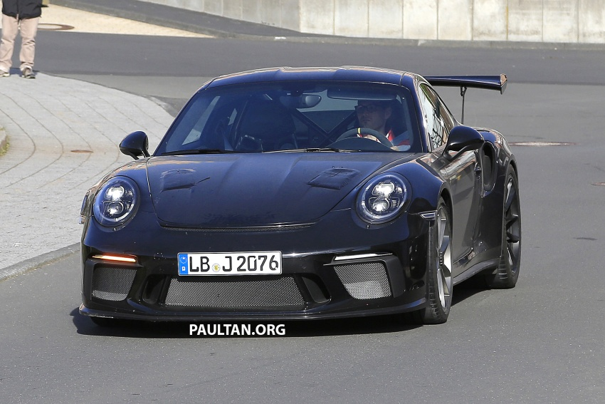 SPIED: Porsche 911 GT3 RS facelift spotted again Image #638839