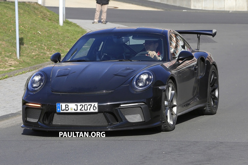 SPIED: Porsche 911 GT3 RS facelift spotted again Image #638840