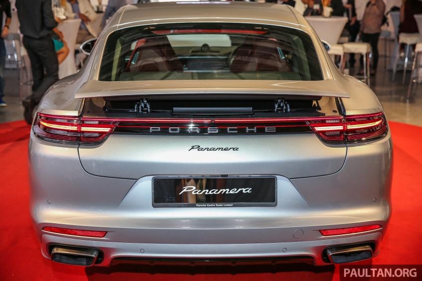 Porsche Panamera 2017 kini berada di Malaysia – harga bermula RM890k bagi model asas 3.0L V6 turbo dan RM1.1j untuk varian 4S 2.9L V6 biturbo Image #644981