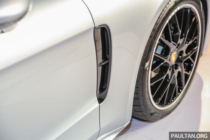Porsche Panamera 2017 kini berada di Malaysia – harga bermula RM890k bagi model asas 3.0L V6 turbo dan RM1.1j untuk varian 4S 2.9L V6 biturbo Image #644934