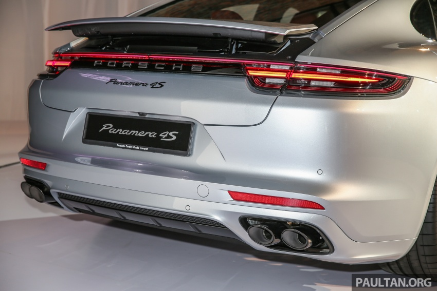 Porsche Panamera 2017 kini berada di Malaysia – harga bermula RM890k bagi model asas 3.0L V6 turbo dan RM1.1j untuk varian 4S 2.9L V6 biturbo Image #644931