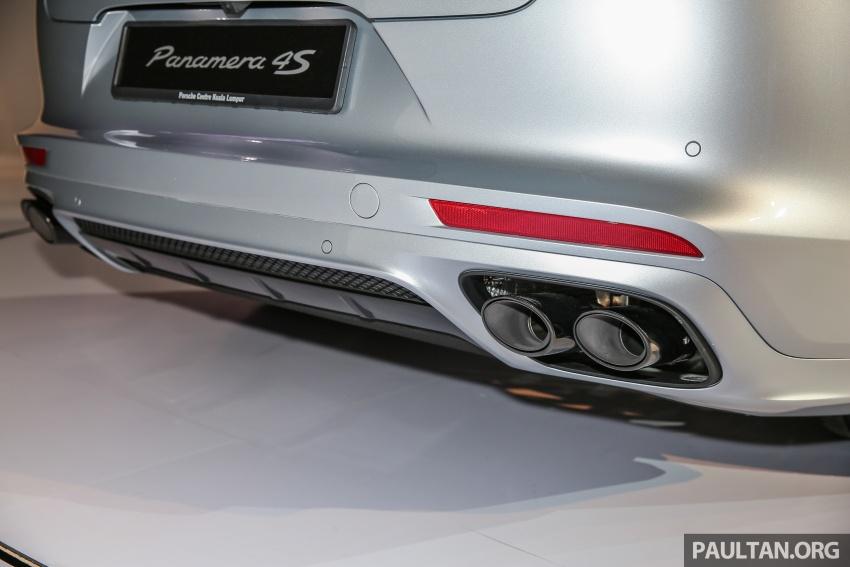Porsche Panamera 2017 kini berada di Malaysia – harga bermula RM890k bagi model asas 3.0L V6 turbo dan RM1.1j untuk varian 4S 2.9L V6 biturbo Image #644926