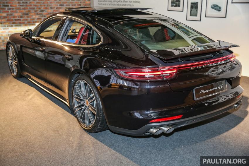Porsche Panamera 2017 kini berada di Malaysia – harga bermula RM890k bagi model asas 3.0L V6 turbo dan RM1.1j untuk varian 4S 2.9L V6 biturbo Image #644919