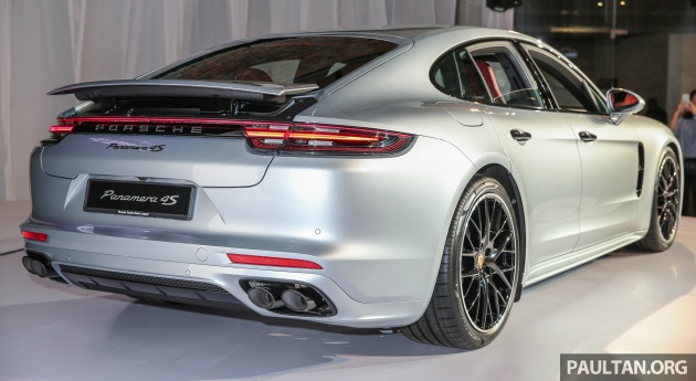 Second Generation Porsche Panamera Launched In Malaysia Rm890k For Base Model Rm1 1mil For 4s Paultan Org
