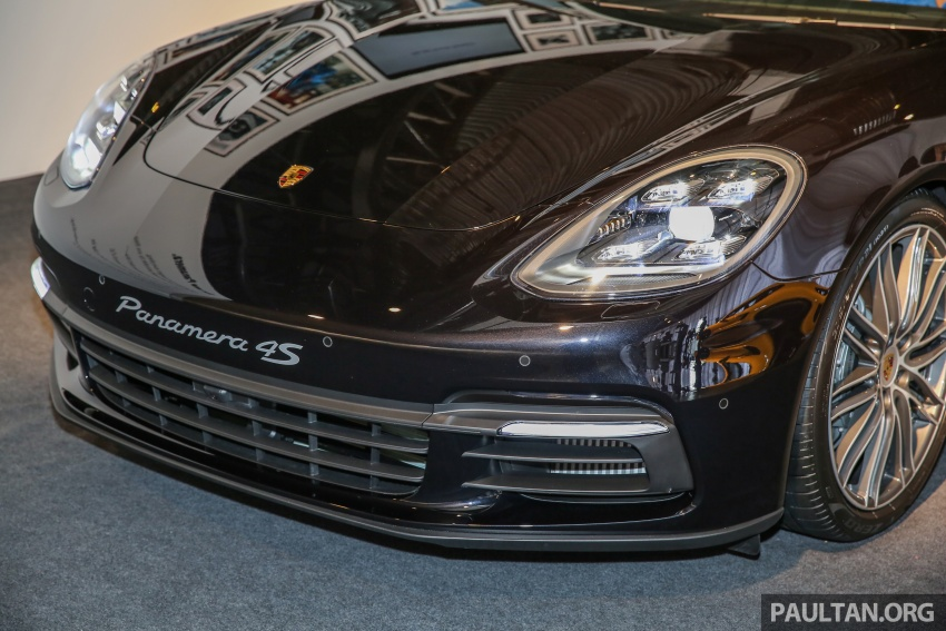 Porsche Panamera 2017 kini berada di Malaysia – harga bermula RM890k bagi model asas 3.0L V6 turbo dan RM1.1j untuk varian 4S 2.9L V6 biturbo Image #644916