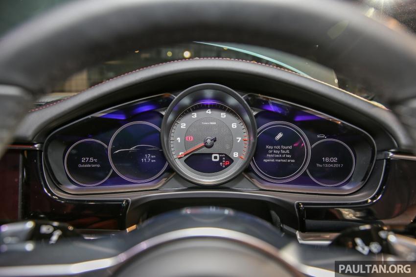 Porsche Panamera 2017 kini berada di Malaysia – harga bermula RM890k bagi model asas 3.0L V6 turbo dan RM1.1j untuk varian 4S 2.9L V6 biturbo Image #644948