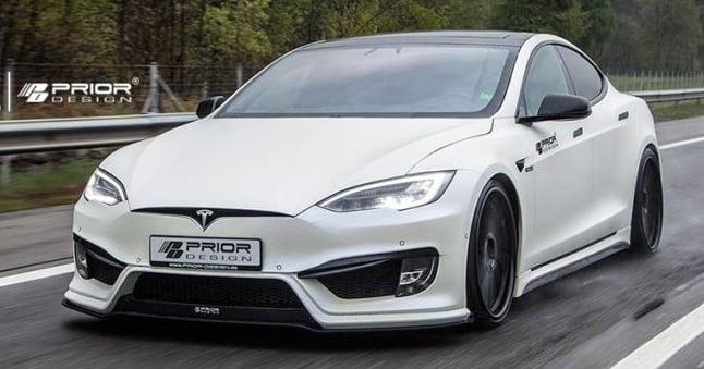 Tesla Model S Receives Prior Design S1000 Aero Kit