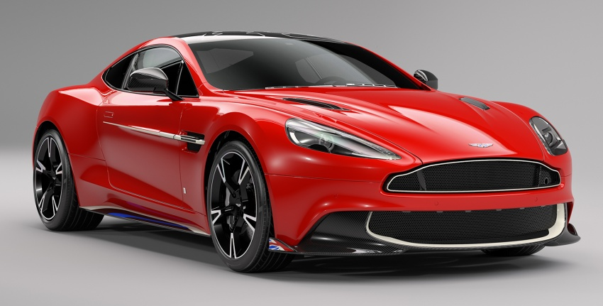 Aston Martin Vanquish S Red Arrows edition – inspired by RAF's iconic aerobatic jets, 10 units only Image #642509