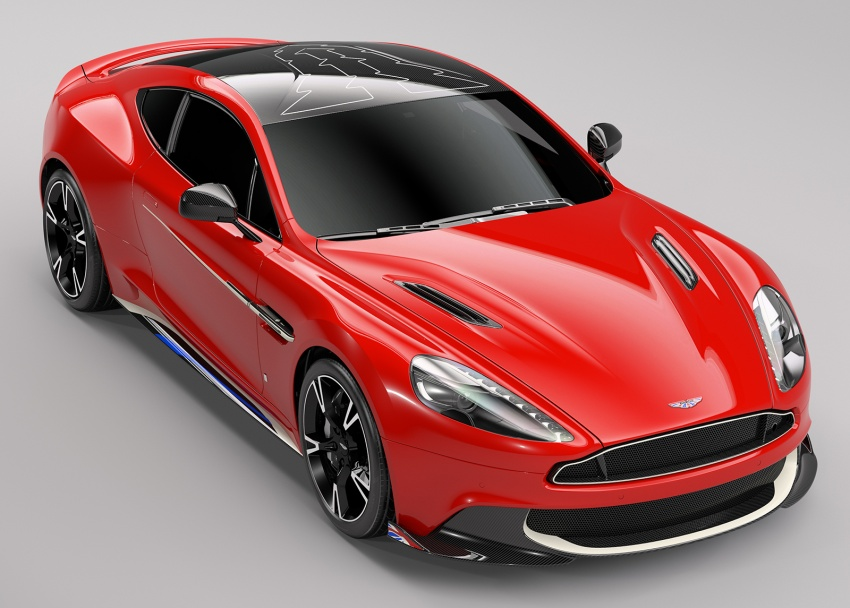 Aston Martin Vanquish S Red Arrows edition – inspired by RAF's iconic aerobatic jets, 10 units only Image #642511