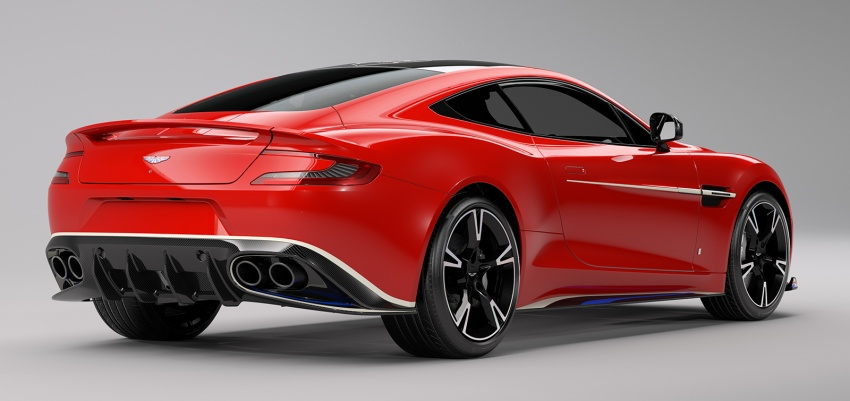 Aston Martin Vanquish S Red Arrows edition – inspired by RAF's iconic aerobatic jets, 10 units only Image #642515
