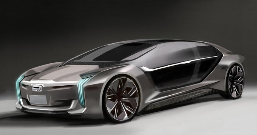 Qoros akan memperkenalkan Model K-EV di Shanghai Image #647071