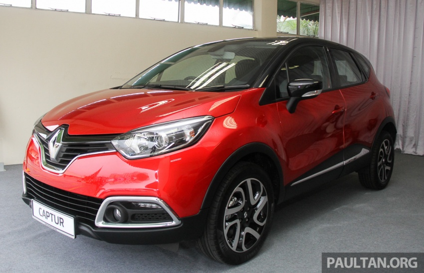 Renault Captur CKD – RM8.2k cheaper, now RM109k Image #646837
