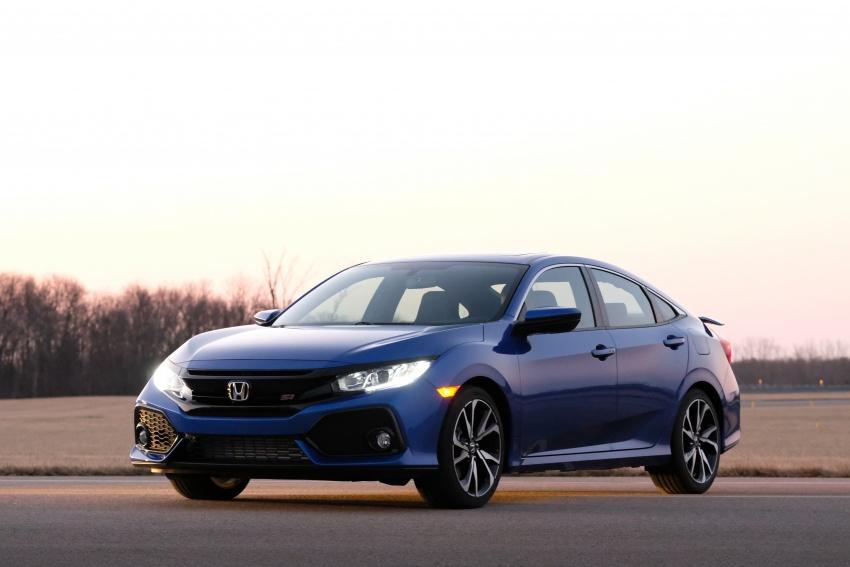 Honda Civic Si sedan, coupe revealed: 205 hp, 260 Nm Image #641804