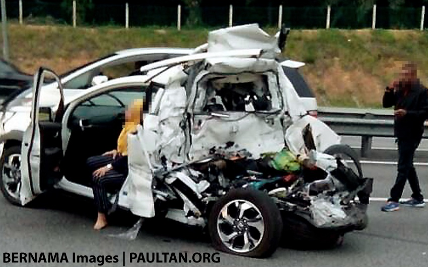 Yet another child dies in road accident in Malaysia – parents, secure your kids with seat belts, child seats Image #650076