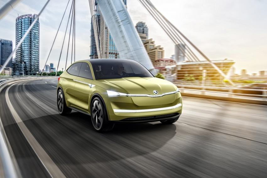 Skoda Vision-E concept revealed – up to 500 km range Image #647042