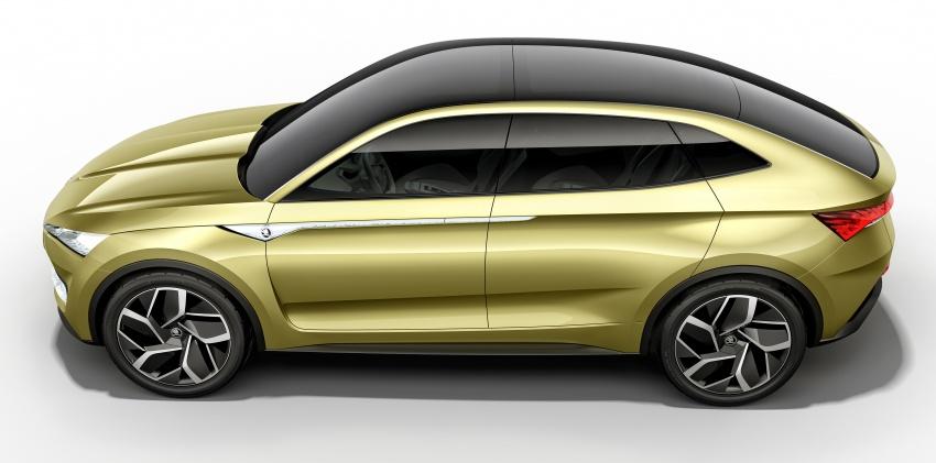 Skoda Vision-E concept revealed – up to 500 km range Image #647047