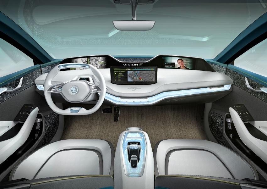 Skoda Vision-E concept revealed – up to 500 km range Image #647051
