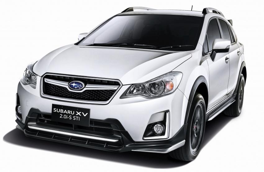 Subaru XV 2.0i-S STI introduced in Malaysia – RM123k Image #651723