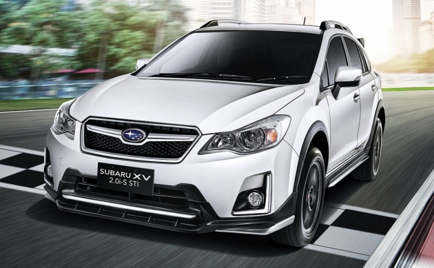 Motor Image Has Introduced A New Addition To The Facelifted Subaru Xv Range 2 0i S Sti Arrives All Dressed Up With Accessories